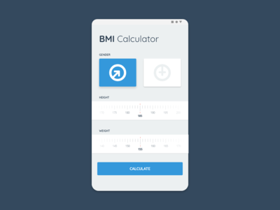 Daily UI Challenge 004 - Calculator - BMI