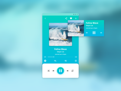 Daily UI Challenge 009 - Music Player