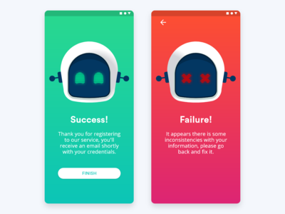 Daily UI Challenge 011 - Flash Message