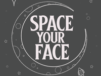 Space Your Face (Grey)