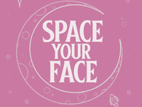 Space Your Face (Pink)