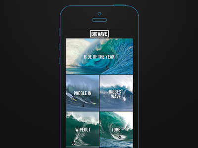 Big Wave Awards Concept 1: Structure