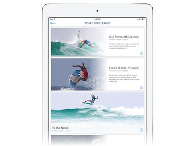 Reflecting on WSL iPad visual sketch experience design ux ui tablet ios ipad