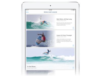 Reflecting on WSL iPad