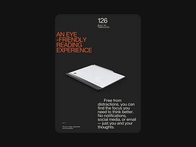 Rethinking notebook - design direction notebook tablet desktop mobile branding design type clean minimal web typography website
