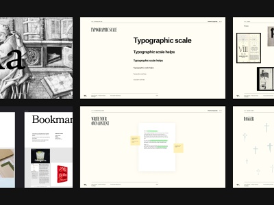 Flawless Typography—Awwwards course ui design design presentation templates templates presentation slides slide layout light type clean typography web website