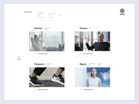 Projects Page — Rejected