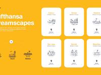 Lufthansa dreamscapes icons big