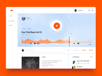 Soundcloud Song Layout / UI Challenge — Week 07
