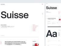 Suisse Type Specimen / UI Challenge — Week 12