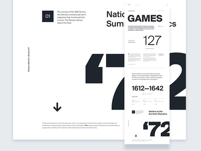 Suisse Type Specimen—page 2 / UI Challenge — Week 12 website web clean simple minimal layout specimen suisse typography type