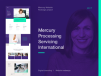 Mercury Website Redesign—Behance Case