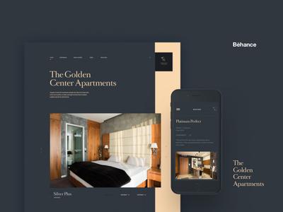 Golden Center Apartments Behance