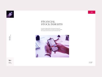 Interaction concept - Financial Market Magazine