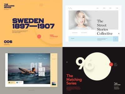 2018—top 4 fashion motion animation simple ui layout clean minimal web typography website