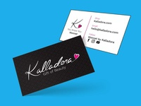 Kalladora Business Card Design