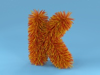 K is for Koosh Ball