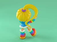 R is for Rainbow Brite