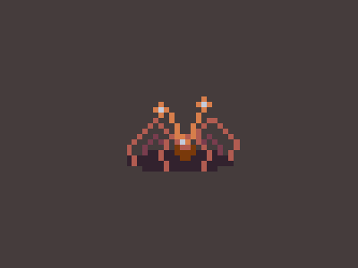 Halloween Countdown #4 the thing halloween pixel art
