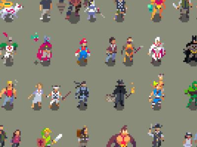 The Character of Pixels video games pixel art
