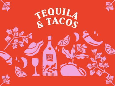 Tequila & Tacos - Illustration