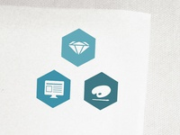 Icon Set - Web Design, Branding, About Me