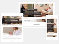 Chiropractor Site - UX Process