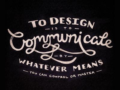 To Design