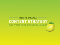 Content Strategy For A Web Design Business
