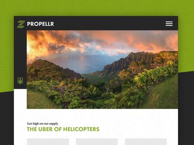Propellr - 1 hour Design Challenge