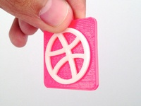 Real Flat Dribbble Icon
