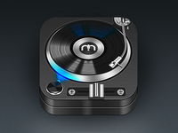 Mixr Turntable Icon