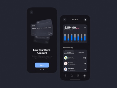 💶Banking App Dashboard | Onboarding pages Design dashboad onboarding payment app payment bank app credit card mastercard visa card paypal google pay apple wallet financial app finance app fintech finance banking app banking bank n26 ui