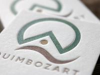 Quimbozart Letterpress Business cards