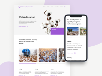 Whitecrop - main page