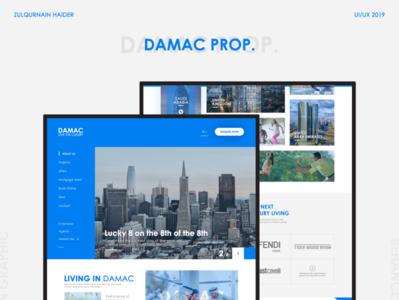 Damac Properties Ui Template Design