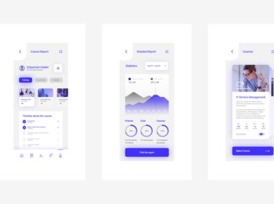 Educaation App (ad ludum) - UX/UI Design