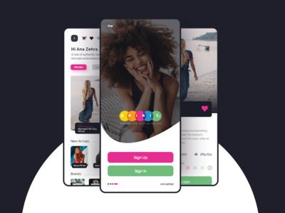 Shopping App (spirit.pk) UX/UI Interaction Design