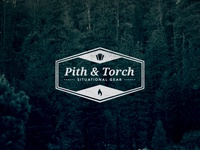 Pith & Torch logo variation