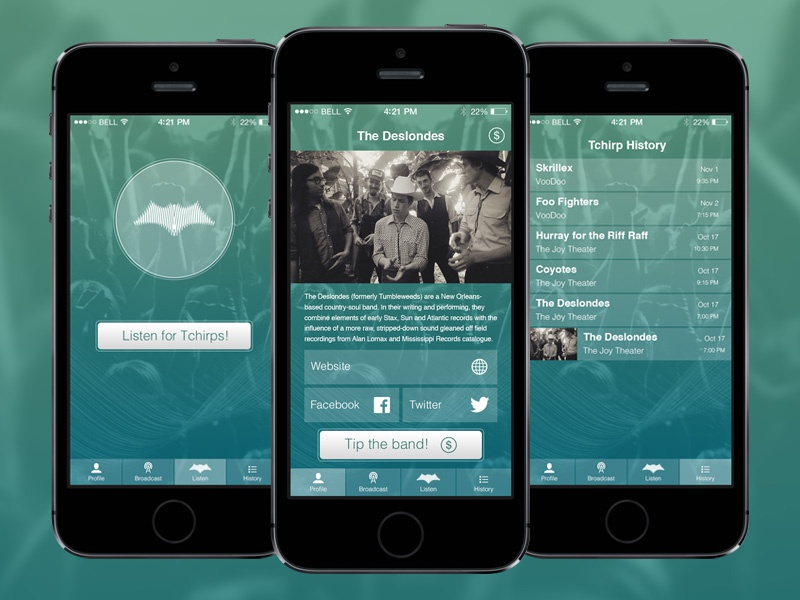 Mobile App Design mobile app ui iphone interface