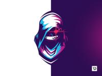 Ultra Elite. Mascot logo concept