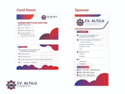 CV Altilu's Card Name and Sponsor Design