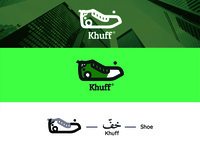 Khuff Shoes Brand Logo Concept (For Sale)