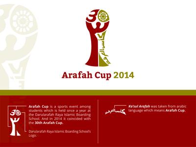 Arafah Cup 2014 Logo