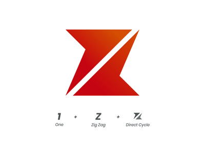 One + Z + Direct Cycle Logo Mark