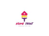 Home Paint - A modern logo