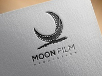 Abstract logo about filmography