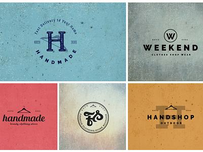 Typography Handmade Logo logo designs logo designer hand crafted design bdthemes logodesign logo design flat design logo modern design