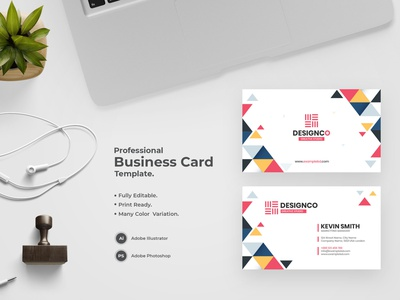 Business Card -36 bdthemes visit card business card design flat design modern design visiting card professional design visitingcard visiting card design professional business card