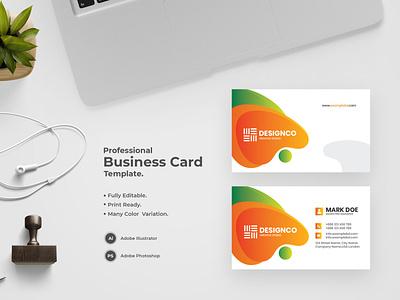 Business Card -38 bdthemes modern design flat design business card design visit card visiting card professional design visitingcard visiting card design professional business card